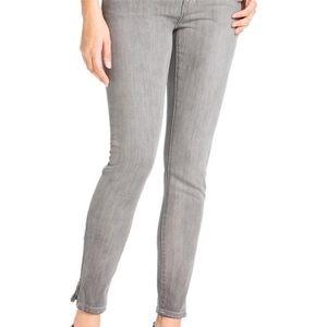 Michael Kors gray wash skinny jeans